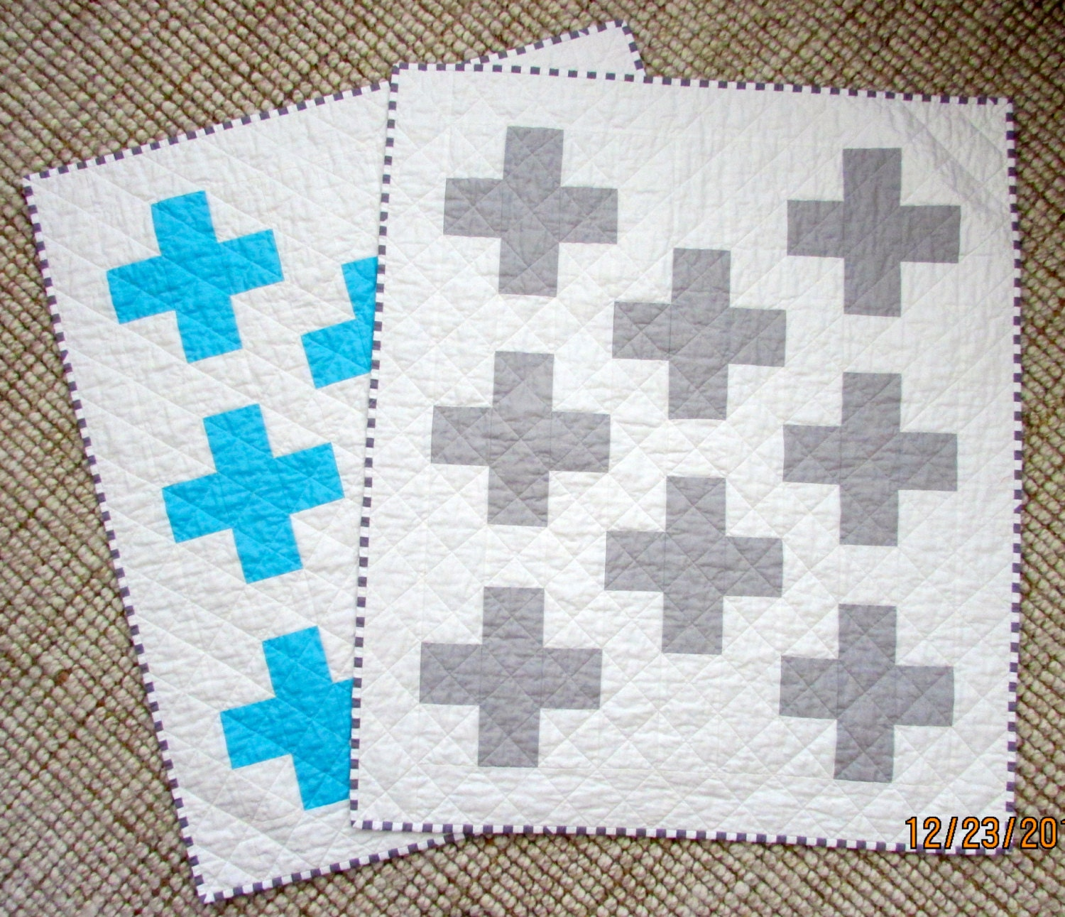 Custom Made Baby Quilt Made To Order Baby Quilt Plus Sign