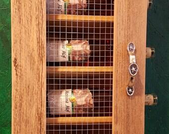 Rustic Wine Cabinet, Wine Storage, Handcrafted Wine Cabinet, Wine Rack