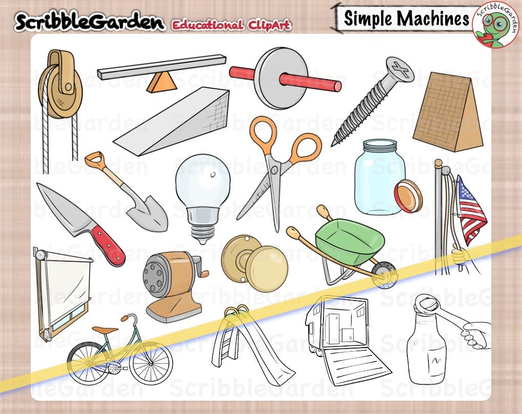 Simple Machines Clipart | www.imgkid.com - The Image Kid ...
