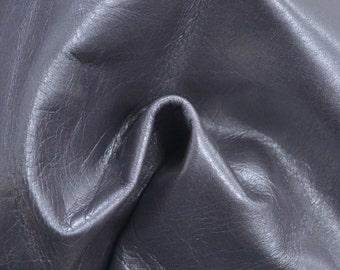 """Gray Leather Cow Hide 8"""" x 10"""" Pre-Cut2 ounces TA-36379 (Sec. 4,Shelf 2,D)"""