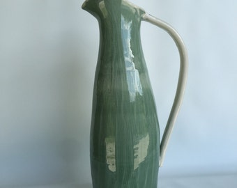 Textured Tall Pitcher