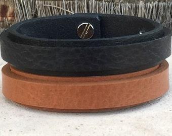 FREE SHIPPING-Men Strap Bracelet, Hidden Message Bracelet,Custom Bracelet,Men Bracelet,Men Leather Bracelet,Personalized Mens Bracelet