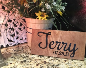 Custom wooden sign- personalized