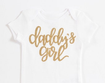 Daddy's girl outfit, daddy's girl onesie, Newborn Onesie, Coming home outfit, Father's Day onesie, Father's Day outfit, baby girl onesie