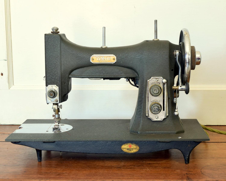 white 77 sewing machine