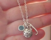 Soccer Necklace, Soccer Ball Necklace, Personalized Soccer, Letter Birthstone, Silver Soccer, Gifts for Girl Soccer Player, Soccer, CLCB