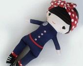 Rosie the Riveter- Mums n Posies Custom Dolly