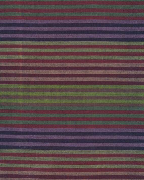 CATERPILLAR Woven Stripe DUSK WCATERDUSKX by Kaffe Fassett fabric sold in 1/2 yard increments