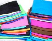 Cotton Fabric Solid Colors Destash Bundle 19