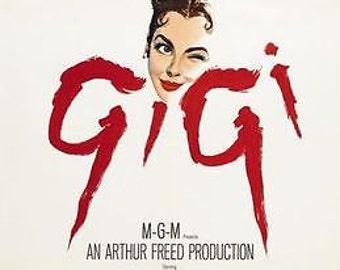 Gigi Movie Poster A3 / A2 Print