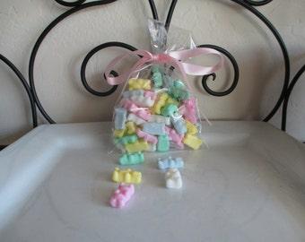 Pastel Gummy Bear Mini Soaps