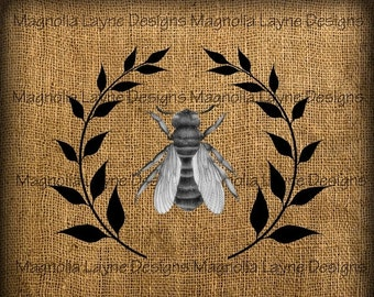 25% OFF Bee With Olive Crown Downloadable Graphic