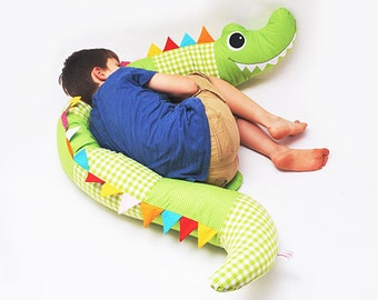 Xl-plushie crocodile
