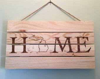 Rustic Burnt Sign Etsy