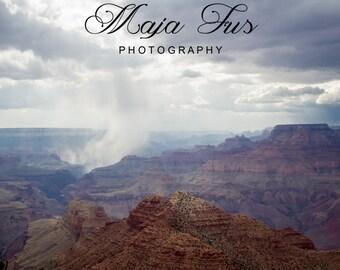 Rainfall Grand Canyon