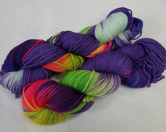 Twilight Flash Handdyed dk Yarn