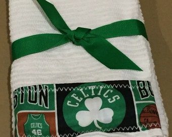 Boston Celtics Hand Towels