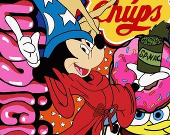 Chuppa Chup Digital art print