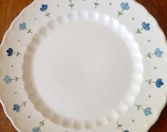 Metlox Poppytrail Vernon  True Blue Plate Set