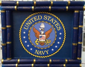 Shotgun Shell Navy Flag