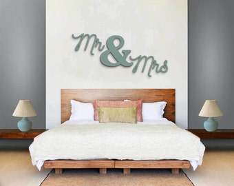 MR U0026 Mrs Wall Sign  Wall Hanging Letters   Home Decor Bedroom Christmas  Gift