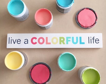Live a COLORFUL life 3x16