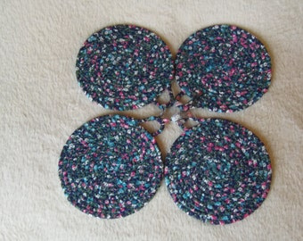 Fabric Wrapped Coaster's