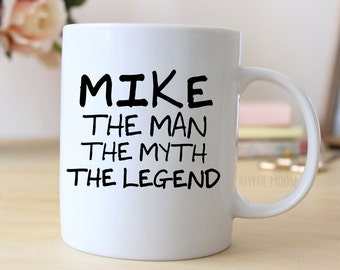 Personalized Mug - Personalized Coffee Mug for Men - GIft for Him