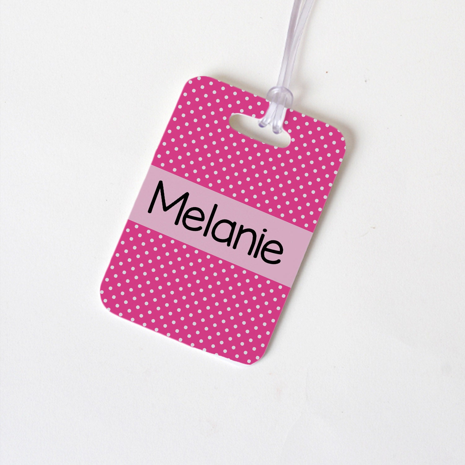 Custom Bag Tag Monogram Backpack Name Tag By Joyfulmoose
