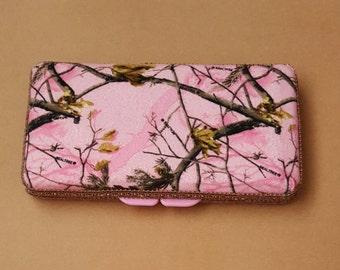 Pink Cameo Wipe Case, Wipe Case, Boutique Wipe Case, Baby Wipe Case
