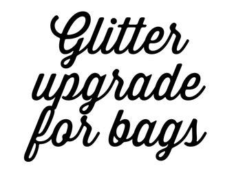 Upgrade from reg vinyl to glitter