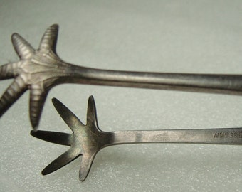 silverplate  WMF tongs for sugar or ice cubes