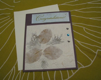 Greeting Card - Congratulations