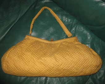 Vintage Quilted Handbag