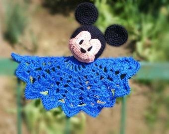 Amigurumi - Crochet Mickey Mouse Snuggle PDF pattern