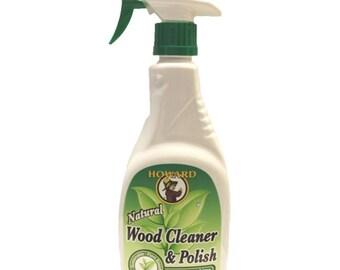 Howard Natural Wood Cleaner & Polish, Trigger Spray, 16-Ounce