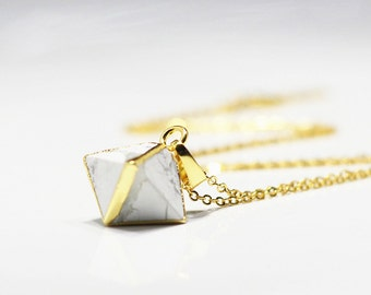 Howlite Necklaces -- Wholesale for gemstone jewelry wholesale handmade craft supply YHA-093