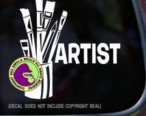 ARTIST Vinyl Decal Sticker