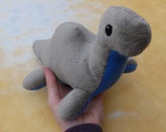 Big Nessie! - Handsewn Loch Ness Plush Toy