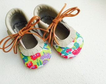 Camille Floral Flats