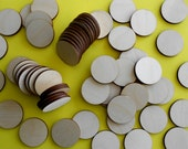 Wood discs for crafting, laser-cut birch rounds for crafting, 200 unfinished discs, woodcrafting supplies, do it yourself