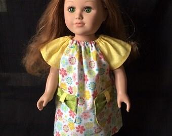 American Girl Spring Dress