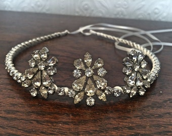 Handmade 1930's Art Deco inspired Bridal Tiara