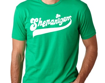 Saint Patrick's Day Party T-Shirt Shenanigans St Patrick's Day Tee Shirt