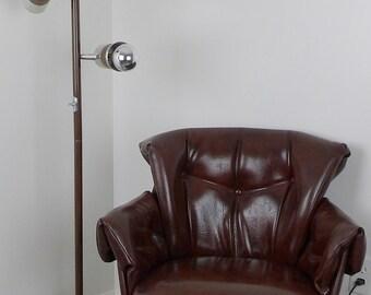 Rare Table Lamps Pair Wood Amp Globes By Makingmidcenturymod
