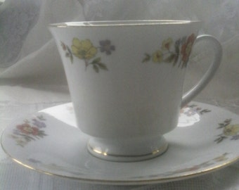 Dynasty fine china Dalian cup and saucer