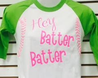 Hey Batter Batter Baseball Jersey