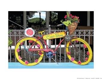 Whimsical Rides, No. 1, 24 x 18 Art Print