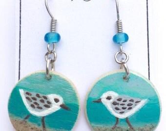 Shorebird earrings