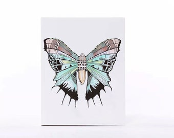 POCKET size notebook. '' Butterfly''